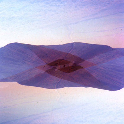 Peaked Double Exposure Fuji Velvia