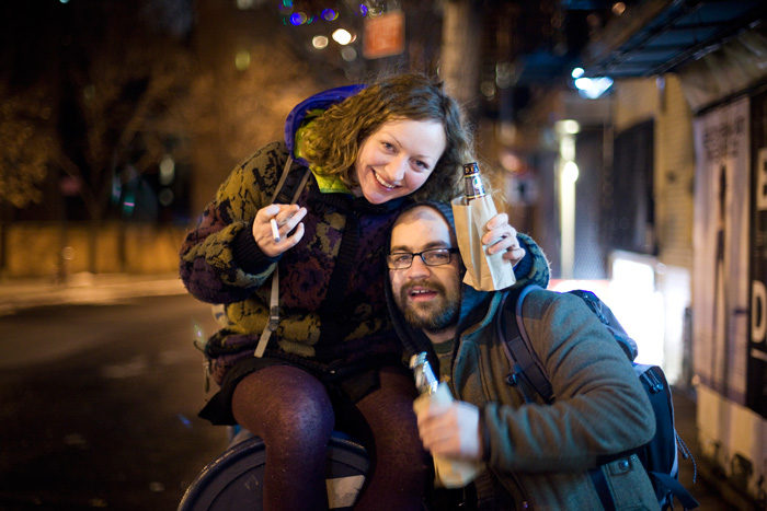 James & Amanda Drinking in the streets Canon 5D mark 2
